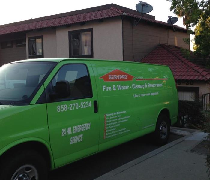 SERVPRO La Jolla Helping Local Residents With All Of Thier